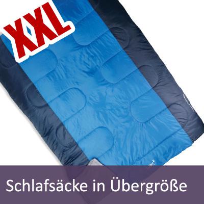 XXL Schlafsäcke | extra breit - extra lang - Übergrößen