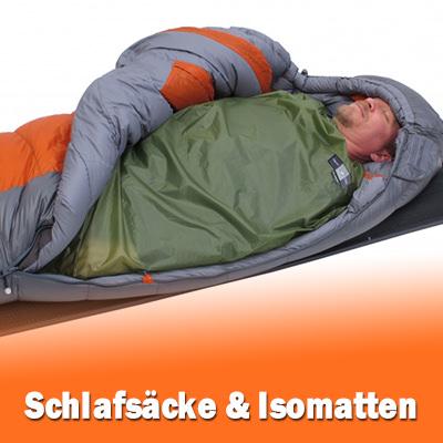 Schlafsäcke für Camping und Outdoor