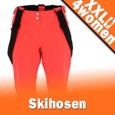 XXL Damen Skihosen in Großen Größen