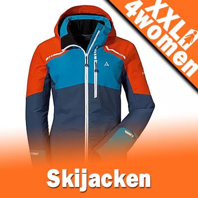 XXL Damen Skijacken in Großen Größen