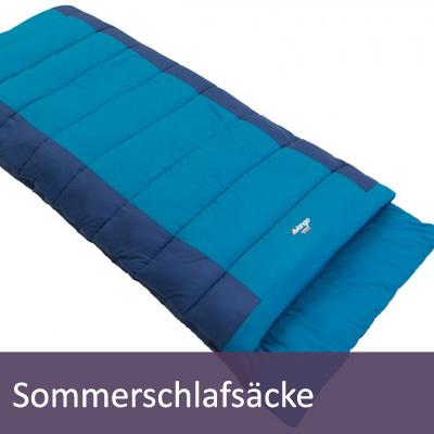 Sommerschlafsäcke für Camping und Outdoor