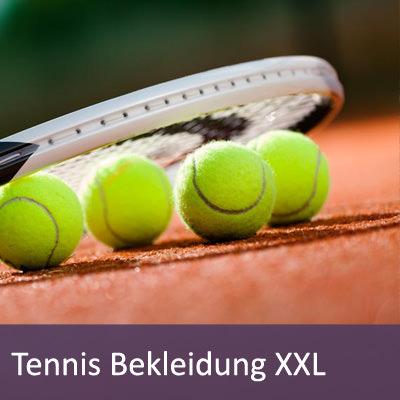 XXL Tennisbekleidung in großen Größen