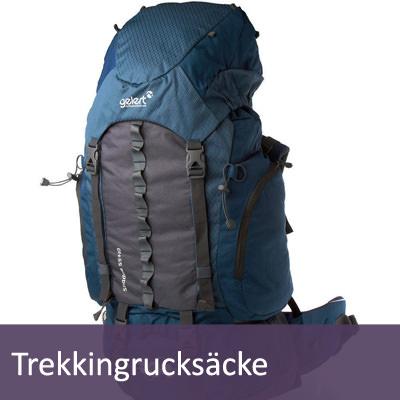 Trekking Rucksäcke für Backpacker