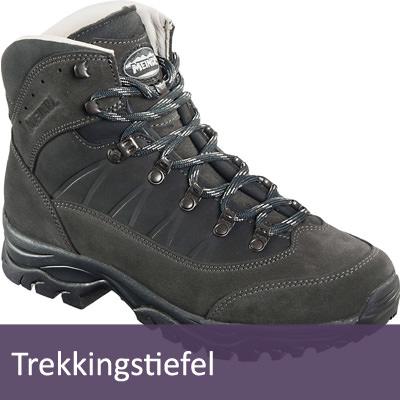 Trekkingschuhe und Bergstiefel