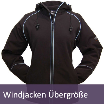 XXL Windjacken und Windstopper