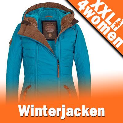XXL Damen Winterjacken in Großen Größen