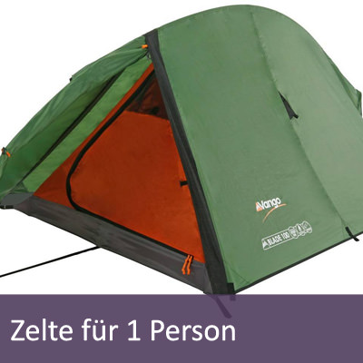 1 Personen Zelte