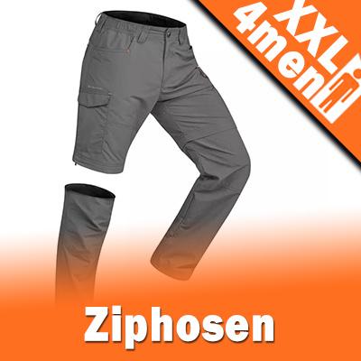 XXL Herren Ziphosen in Übergrößen | Größe XXL bis 8XL