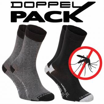 Craghoppers Socken Nosi Travel Twin Pack