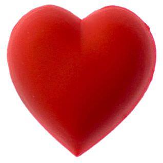 Crocs Jibbitz Red Heart
