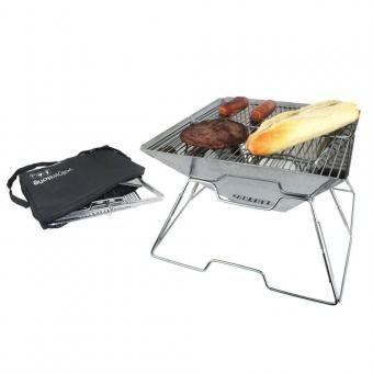 Yellowstone Mini-Grill Edelstahl BBQ