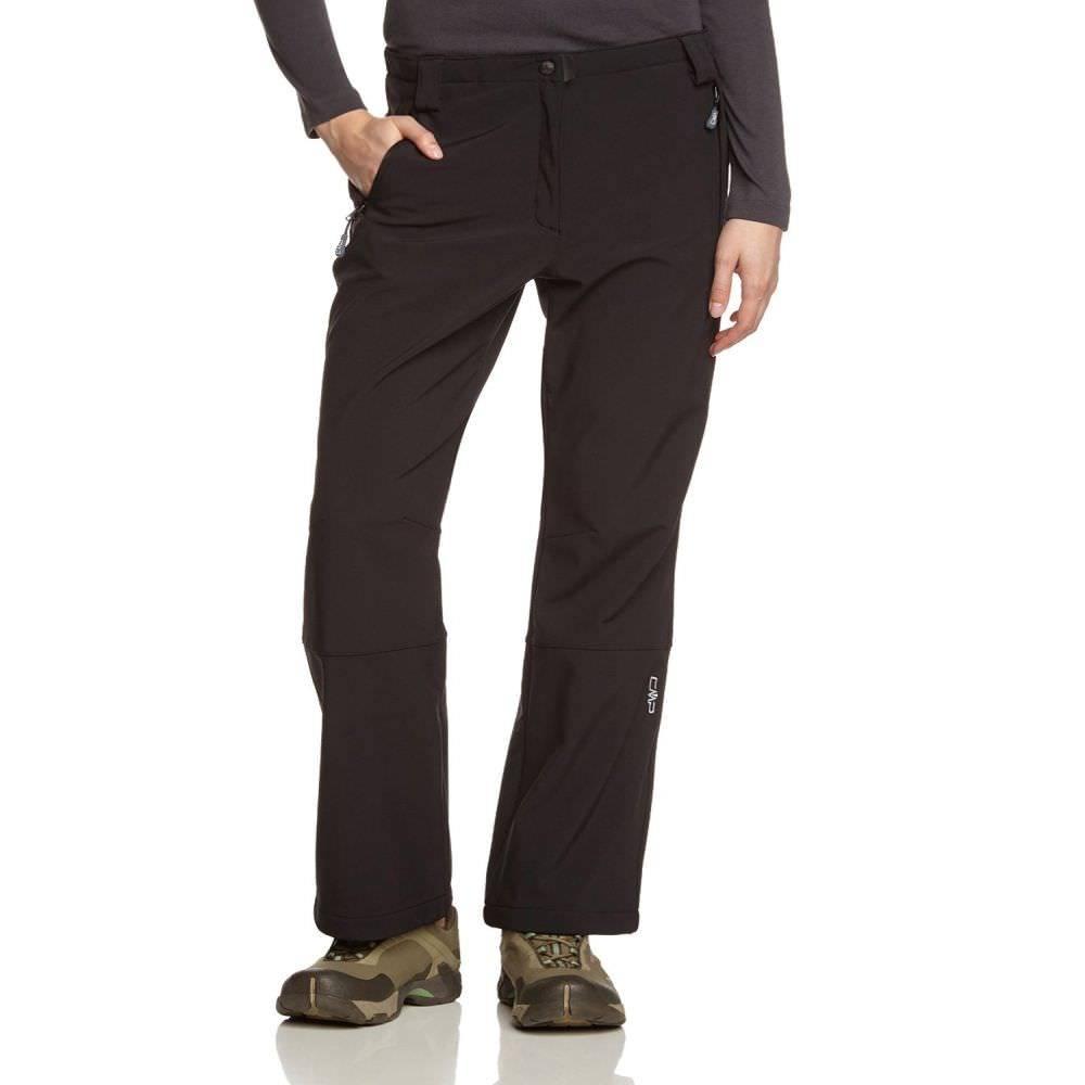 Campagnolo Nanuka Damen Softshellhose Kurzgrößen black | 18