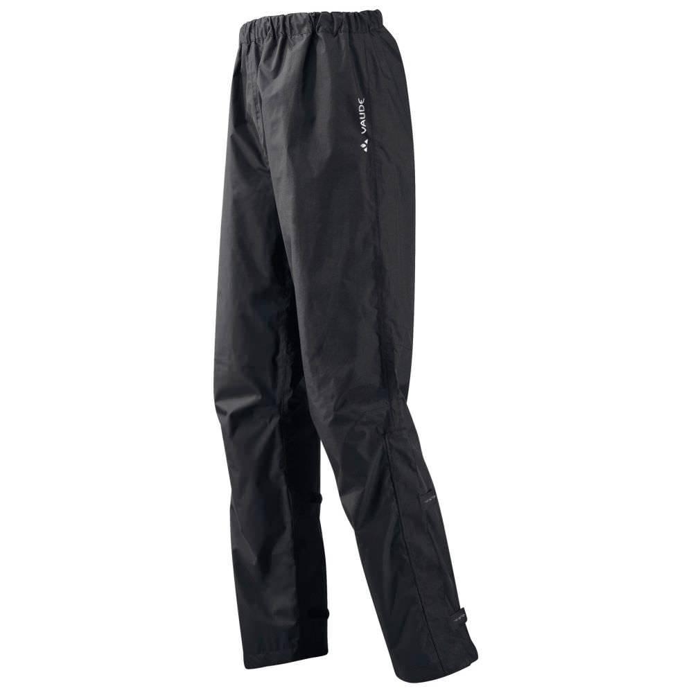 Vaude Fluid Pants II Men Regenhose + lange +kurze Größen black | L Langgröße
