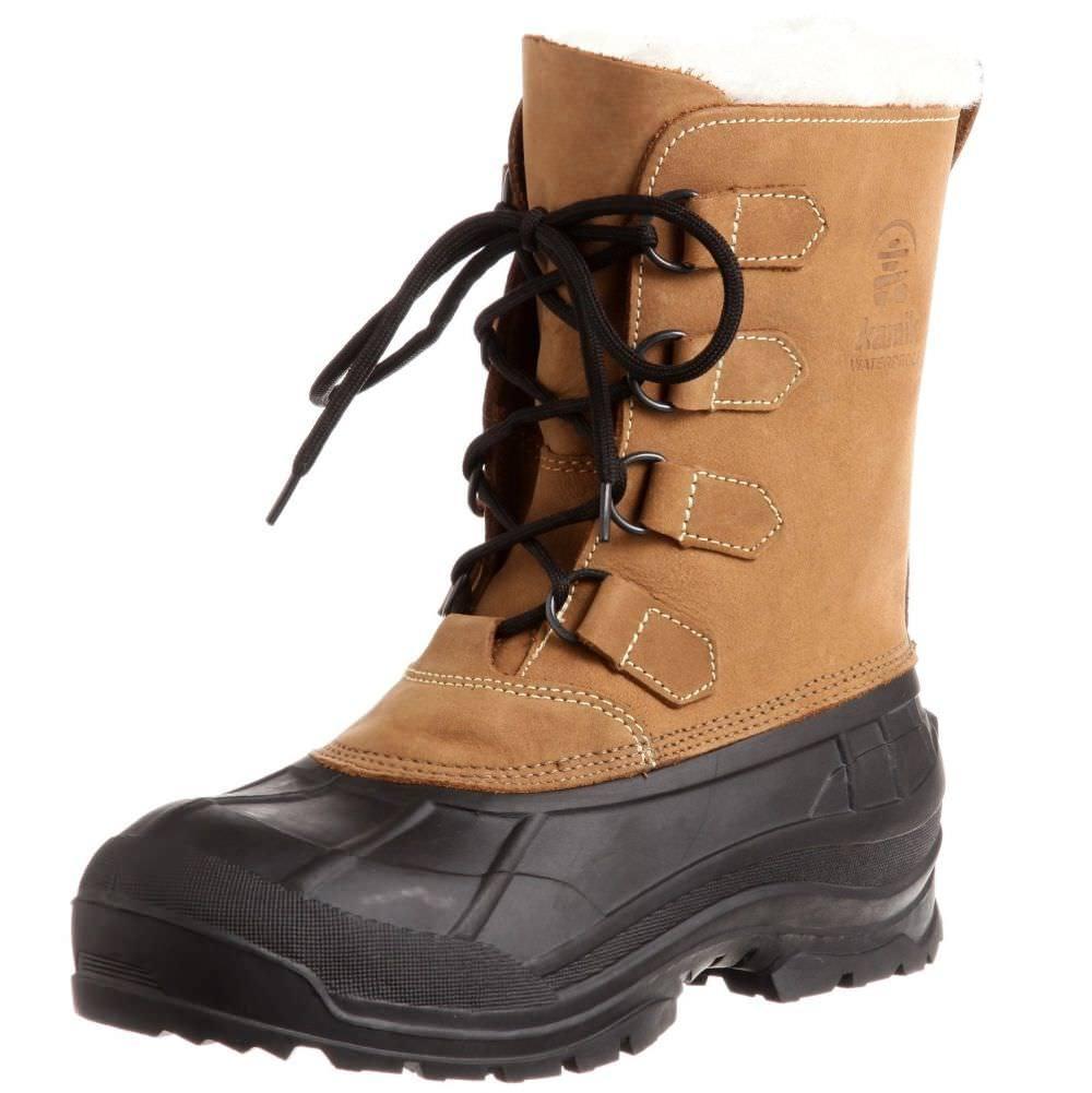 Kamik Alborg Damen Canadian Boots Tan/Brun / Pale | 37