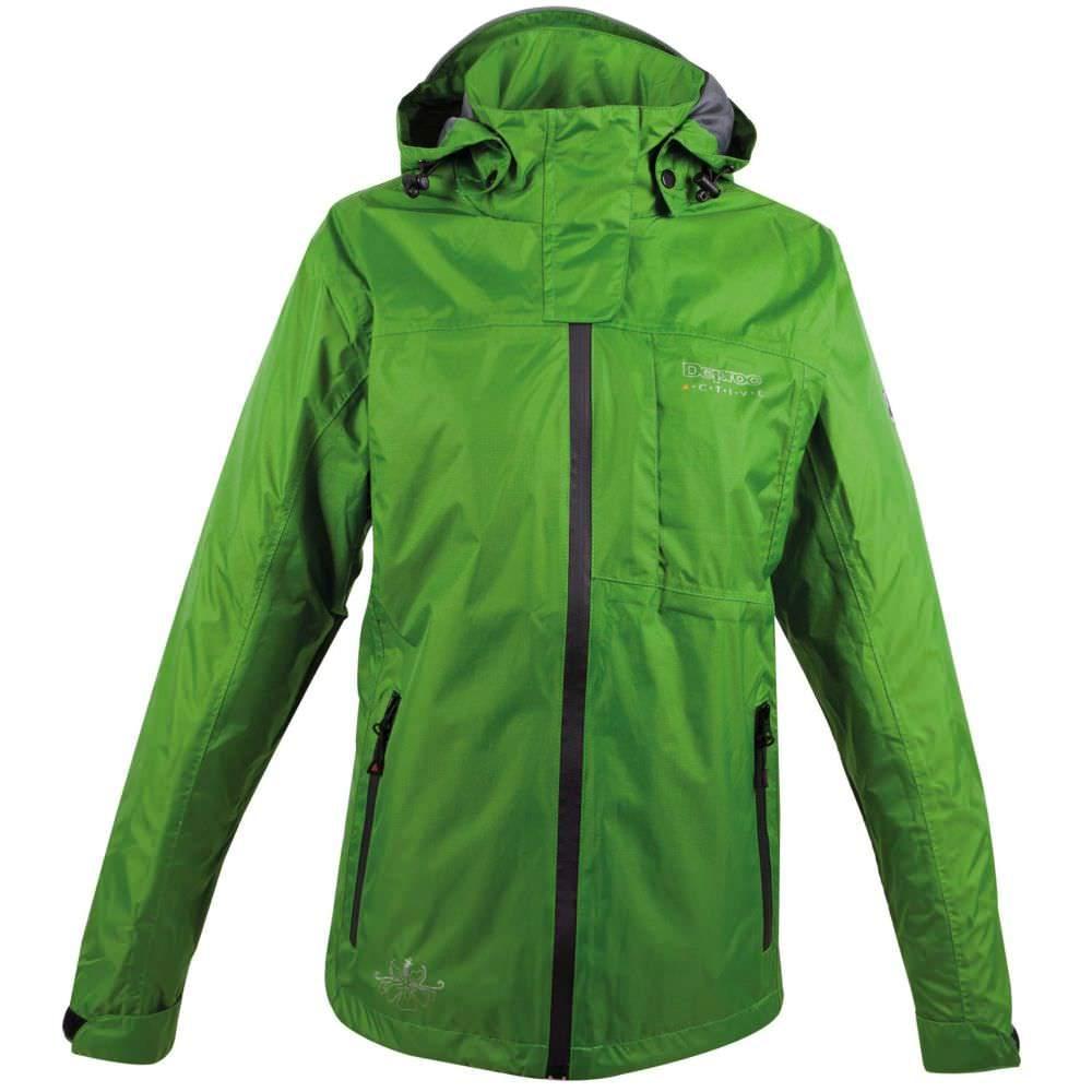 Deproc Finlay Regenjacke für Damen (Übergrößen) grün | 50