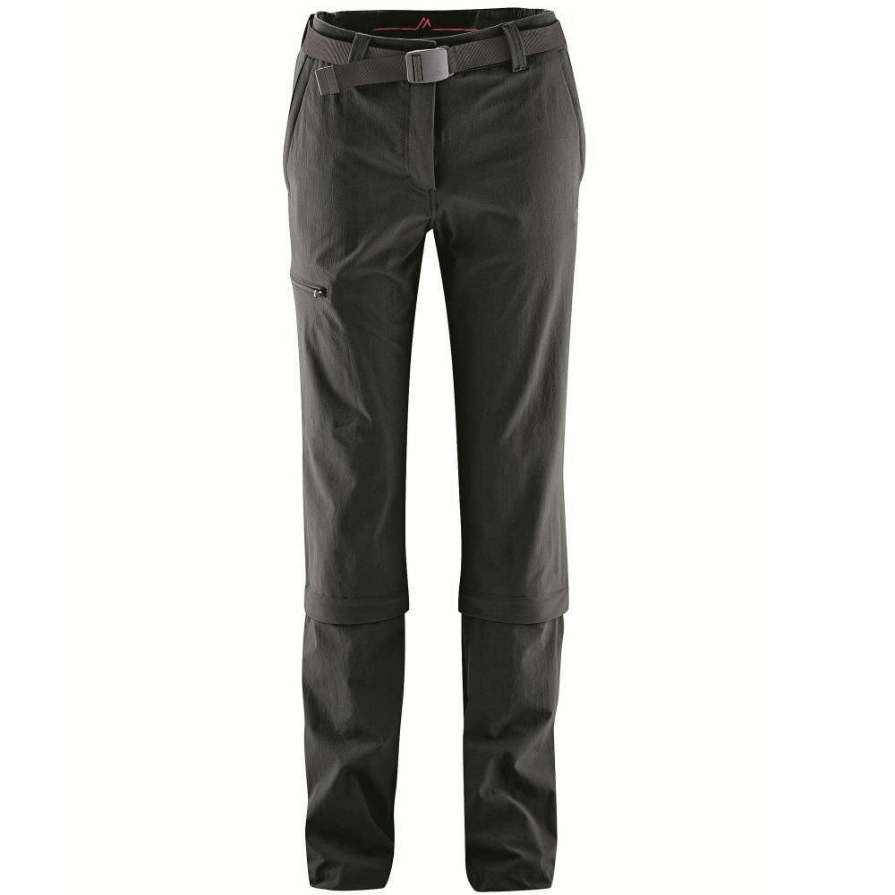 Maier Sports Arolla - Damen Zip-Hose (STRetCH) schwarz | 50