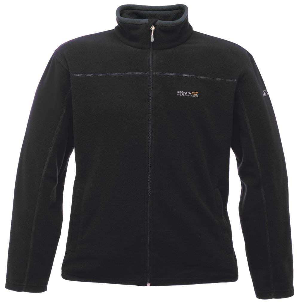 Regatta Fairview Fleece für Herren in großen Größen schwarz | 4XL