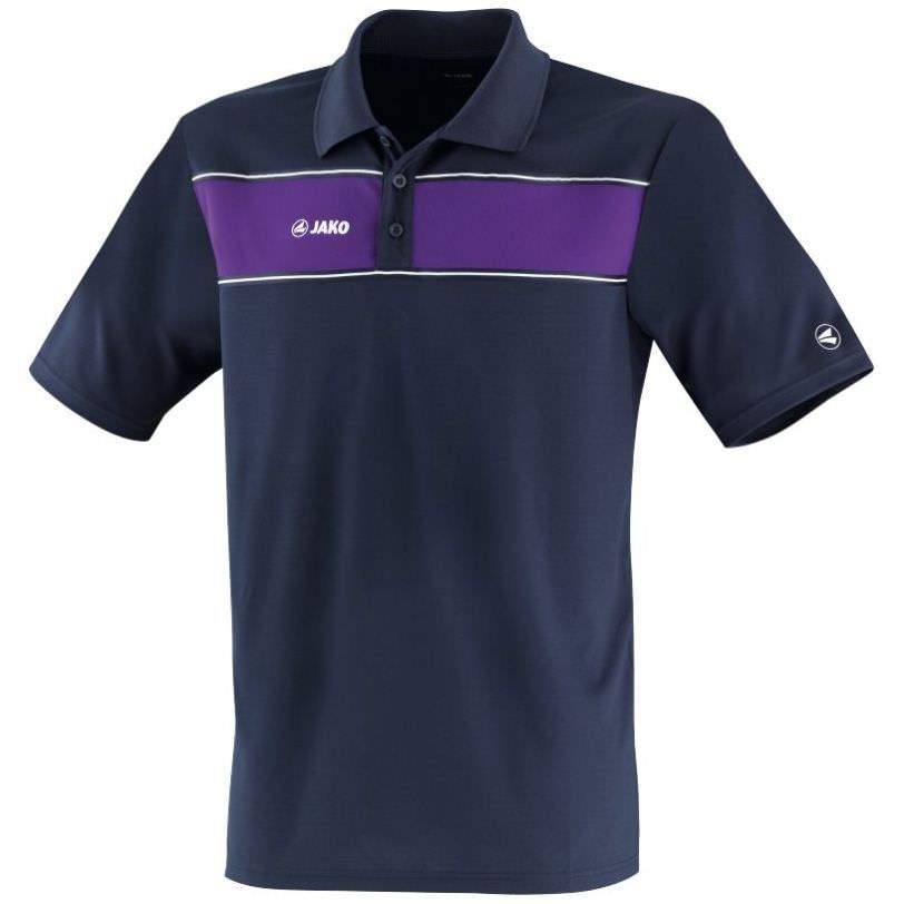 Jako Funktions Polo Shirt bis Gr. 5XL marine/blau   3XL