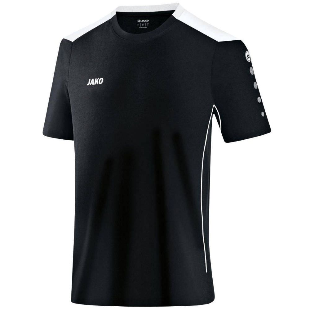 Jako Sport-Funktionshirt Übergrößen schwarz/weiß   4XL