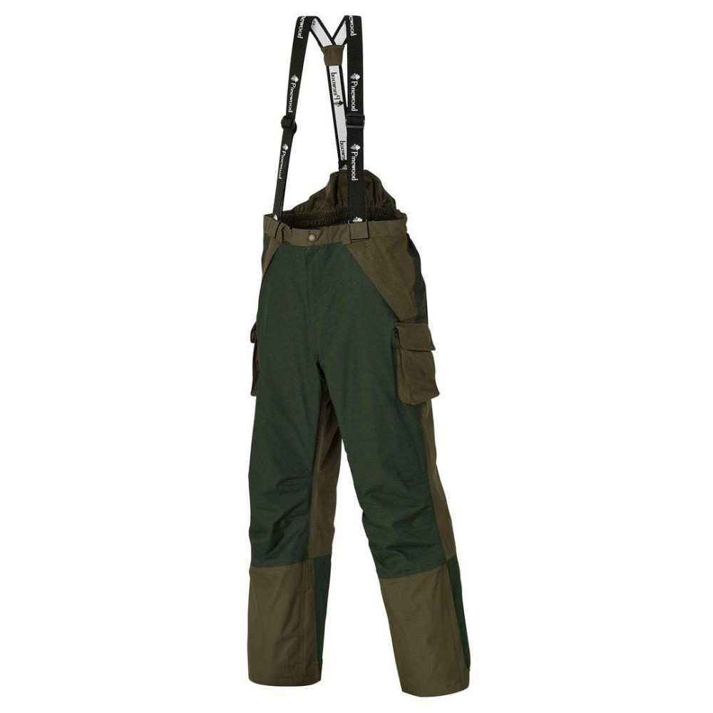 Pinewood Ancona - Überhose / Fischerhose grün/dunkelgrün   2XL