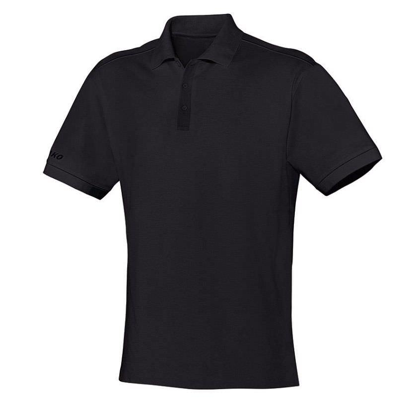 Jako Polo-Shirt Unisex in Übergrößen schwarz | 3XL