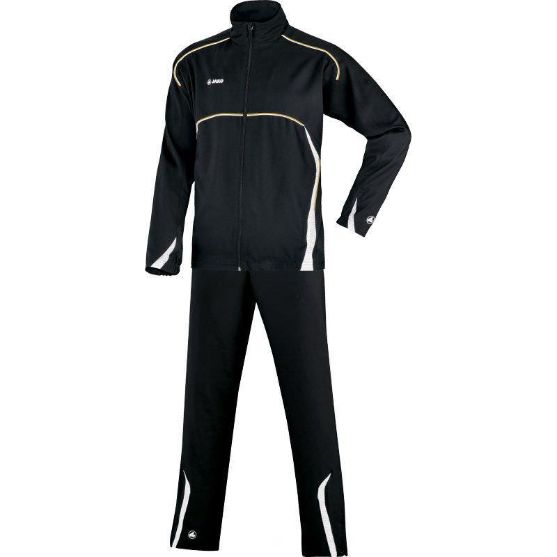 Jako Trainingsanzug Passion für Damen schwarz/weiß | 48