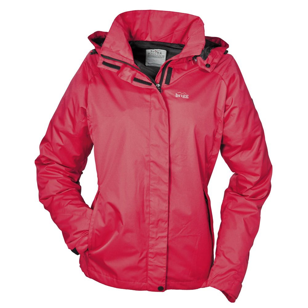 Brigg Sylt Damen Funktionsjacke PACK AWAY Rot | 54