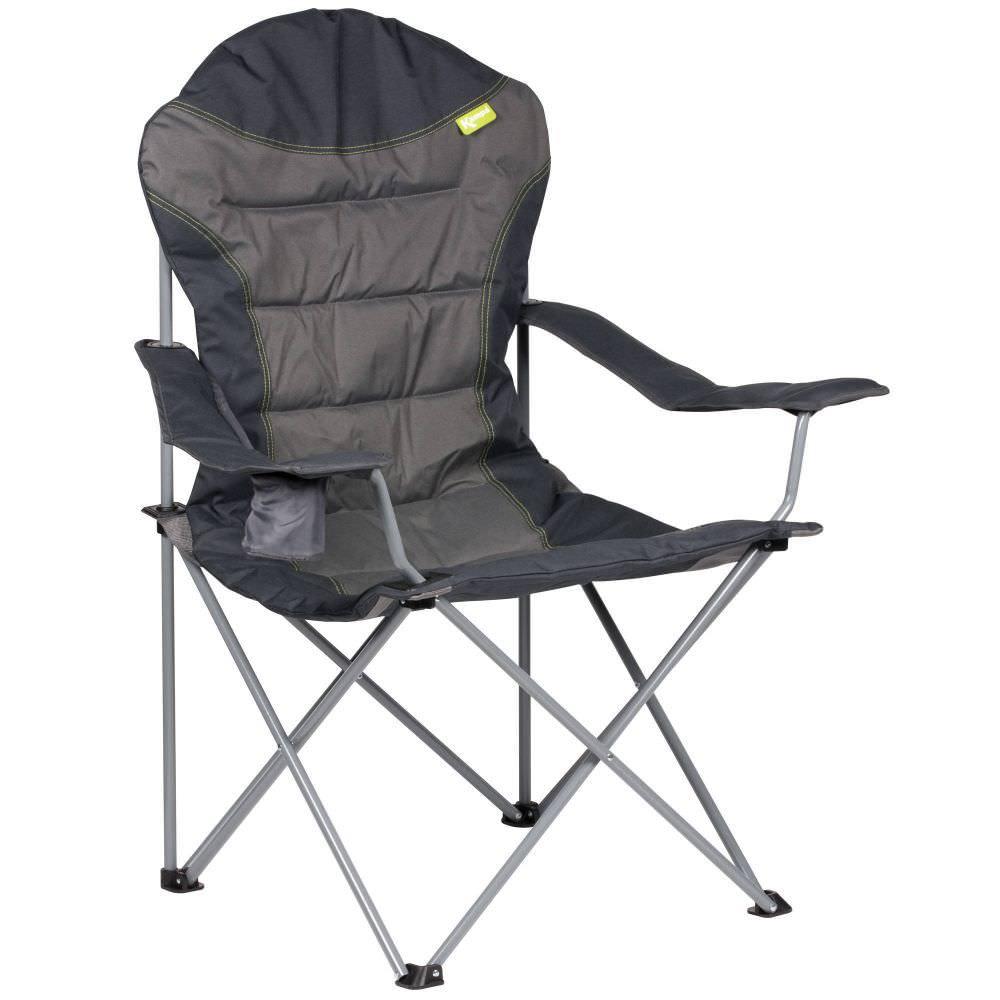 Kampa High Back XL Campingstuhl Olive   1 Person