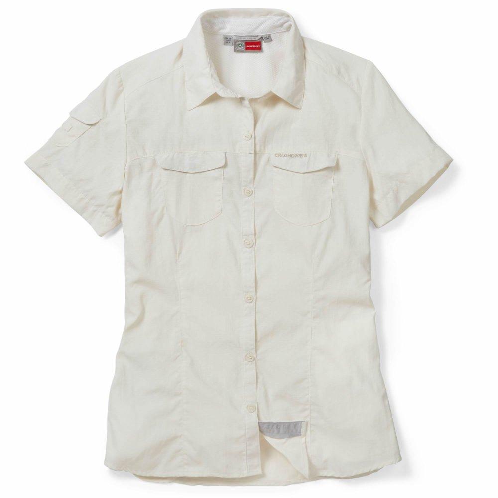 Craghoppers Safari Damen Mückenschutz Bluse NosiLife Weiß   40