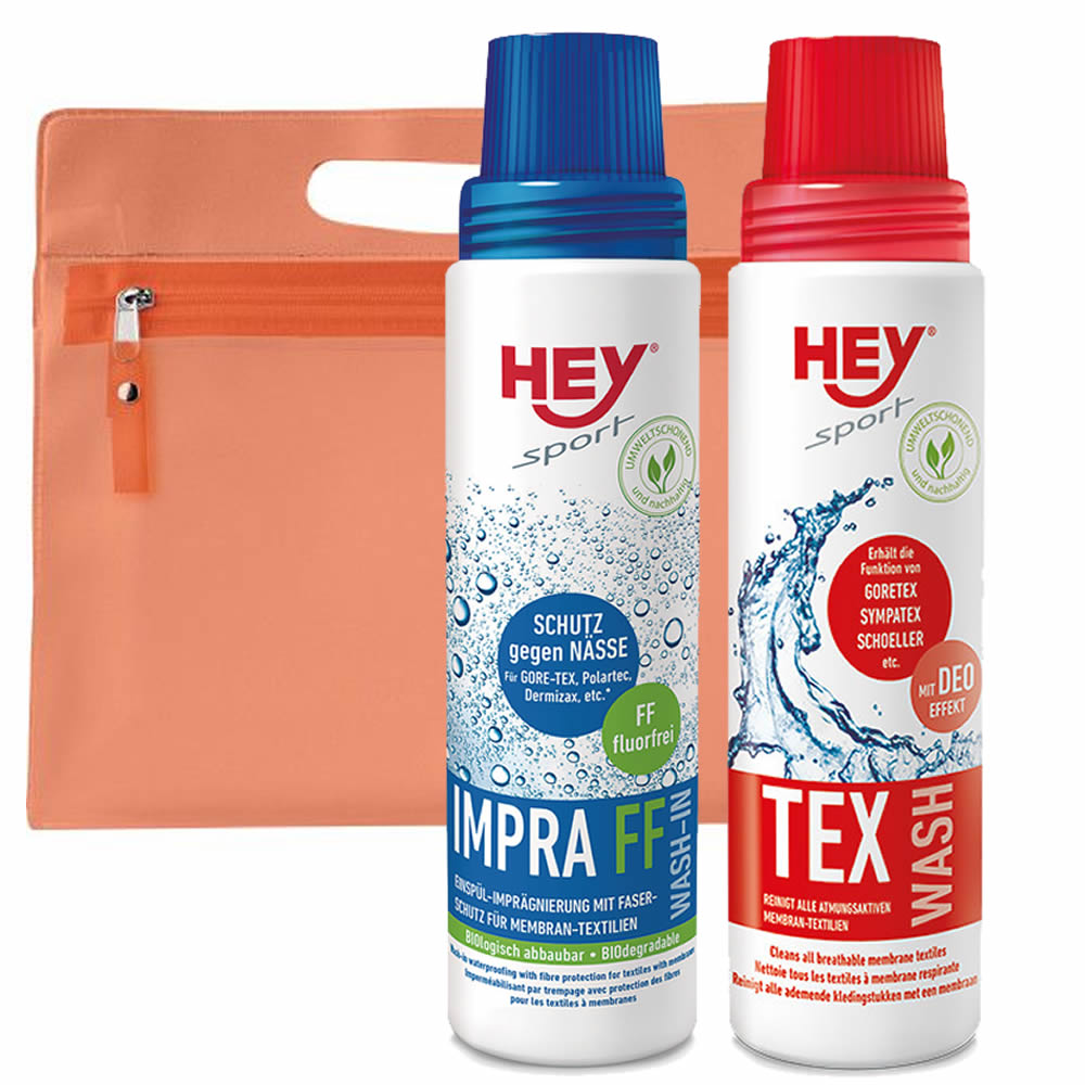 Hey Tex Doppelpack Tex & Impra Wash
