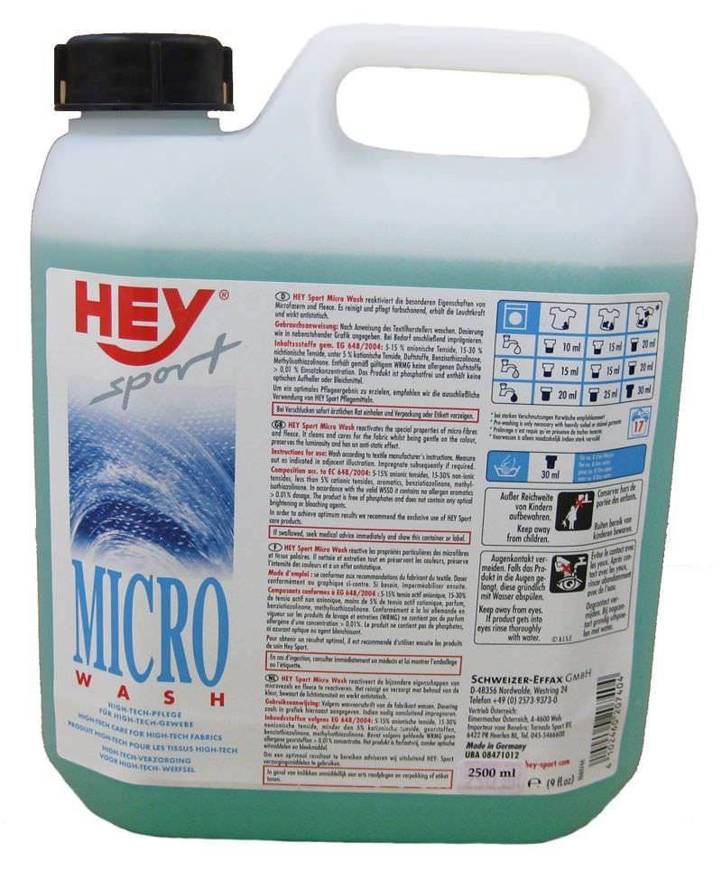 Hey Sport Micro-Wash Kanister 2,5 Liter
