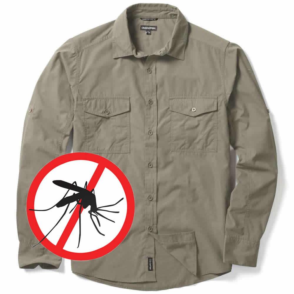Craghoppers Kiwi Mückenschutz Hemd Lang