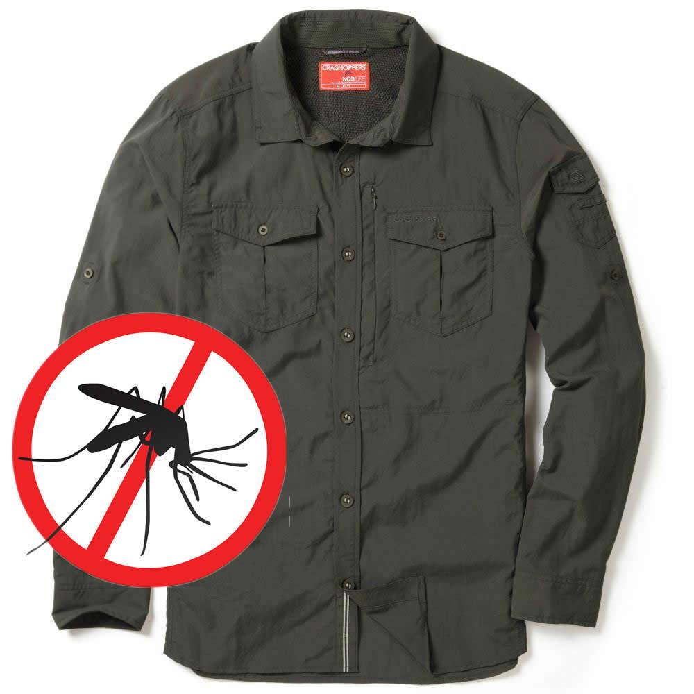 Craghoppers NosiLife Langarmhemd Mückenschutz