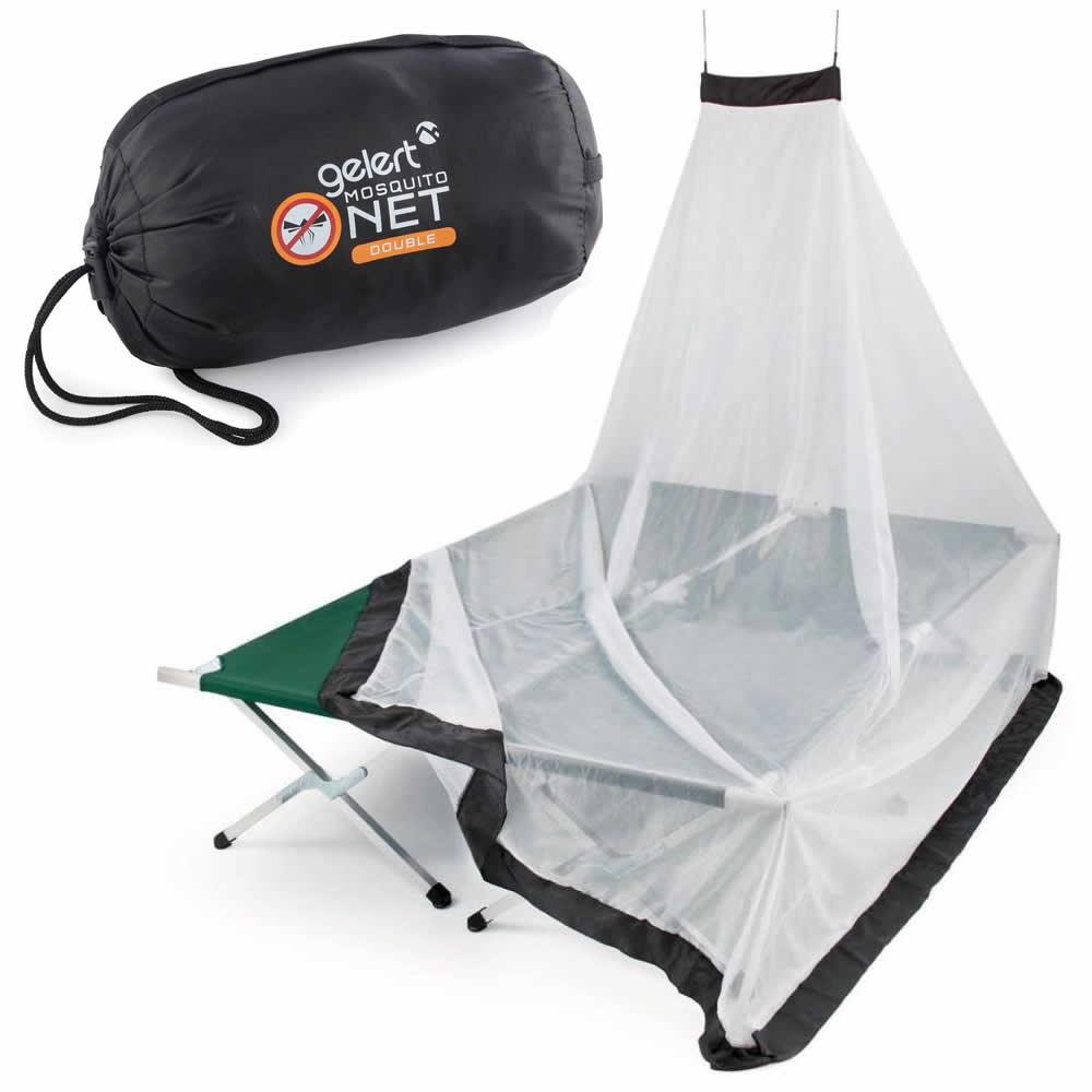Gelert XXL Doppel Moskitonetz Mückenschutz für Reisen