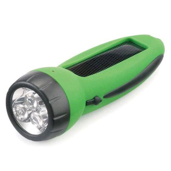 Gelert 3 LED Solar-Taschenlampe