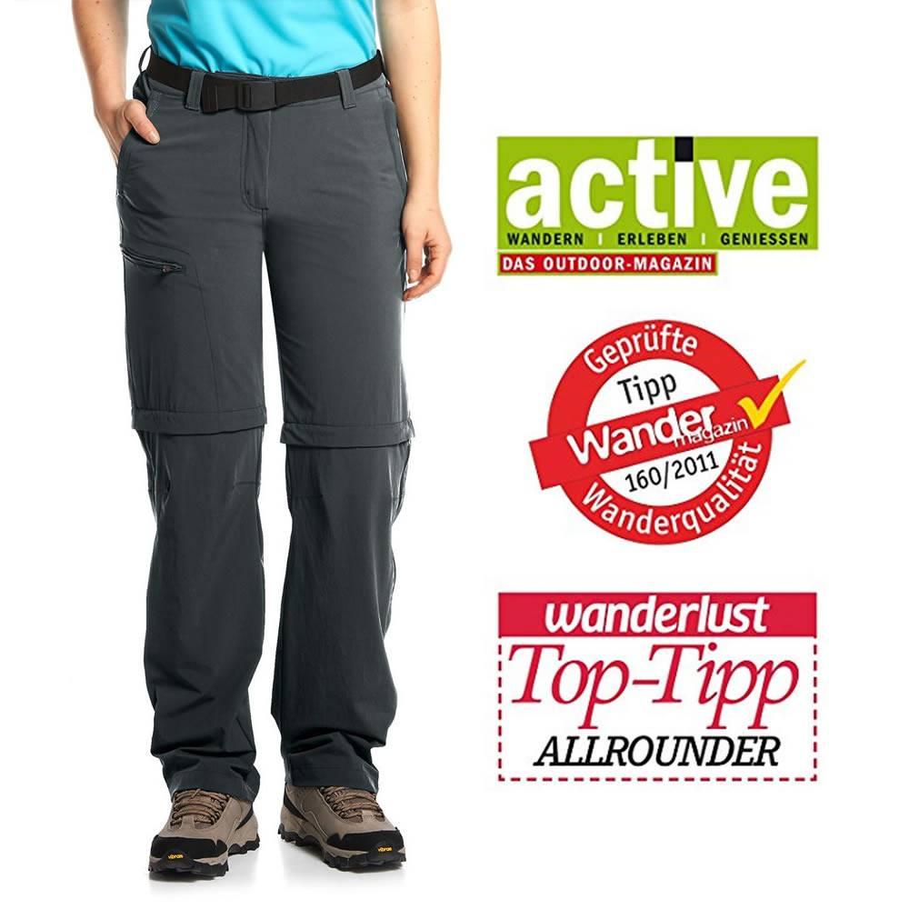 Maier Sports Nata T-Zip Hose (+seitl. RV)
