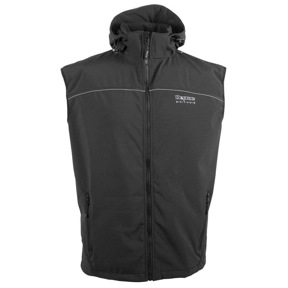 Deproc Nigel Peak Men Softshell-Weste +10XL
