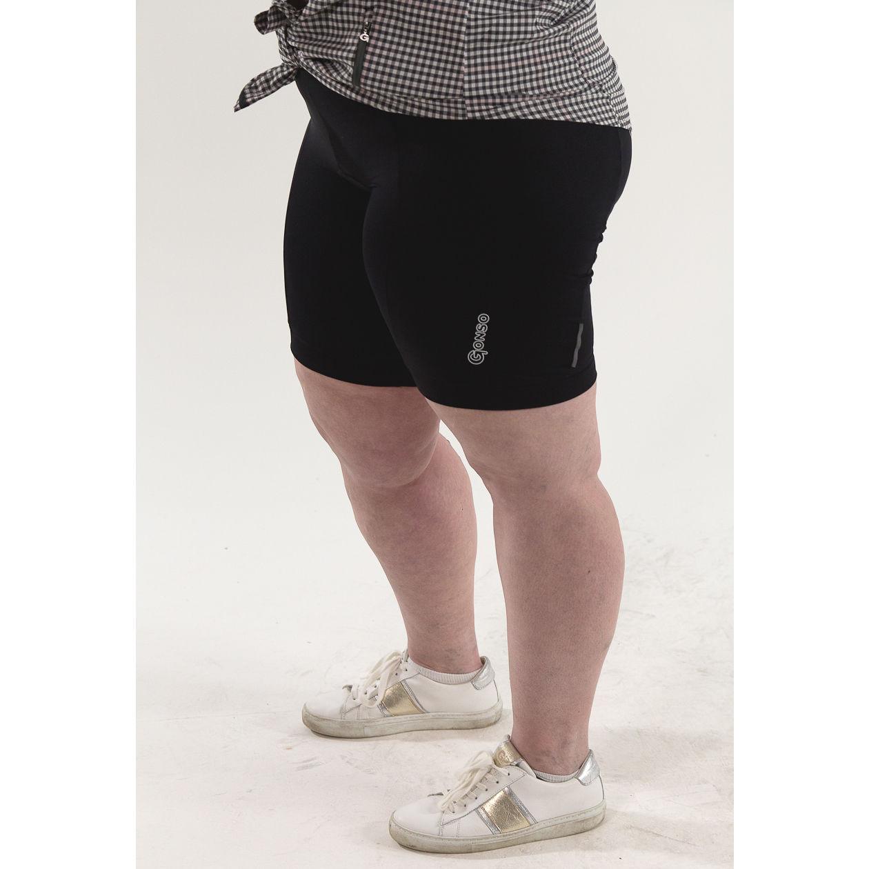 Gonso Silvie - Rad Unterhose Damen in Übergröße SITZPOLSTER