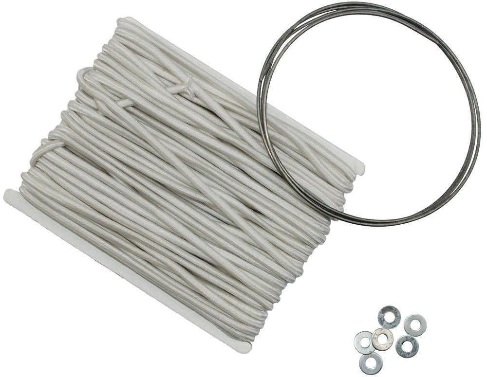 Elastische Gummischnur zum Zeltstangen REPARIEREN