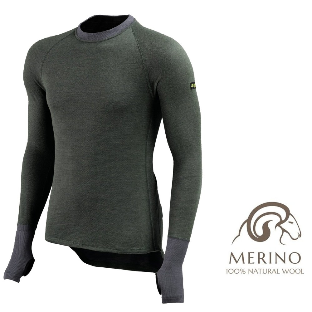 Thermo Function Merinowolle Thermoshirt