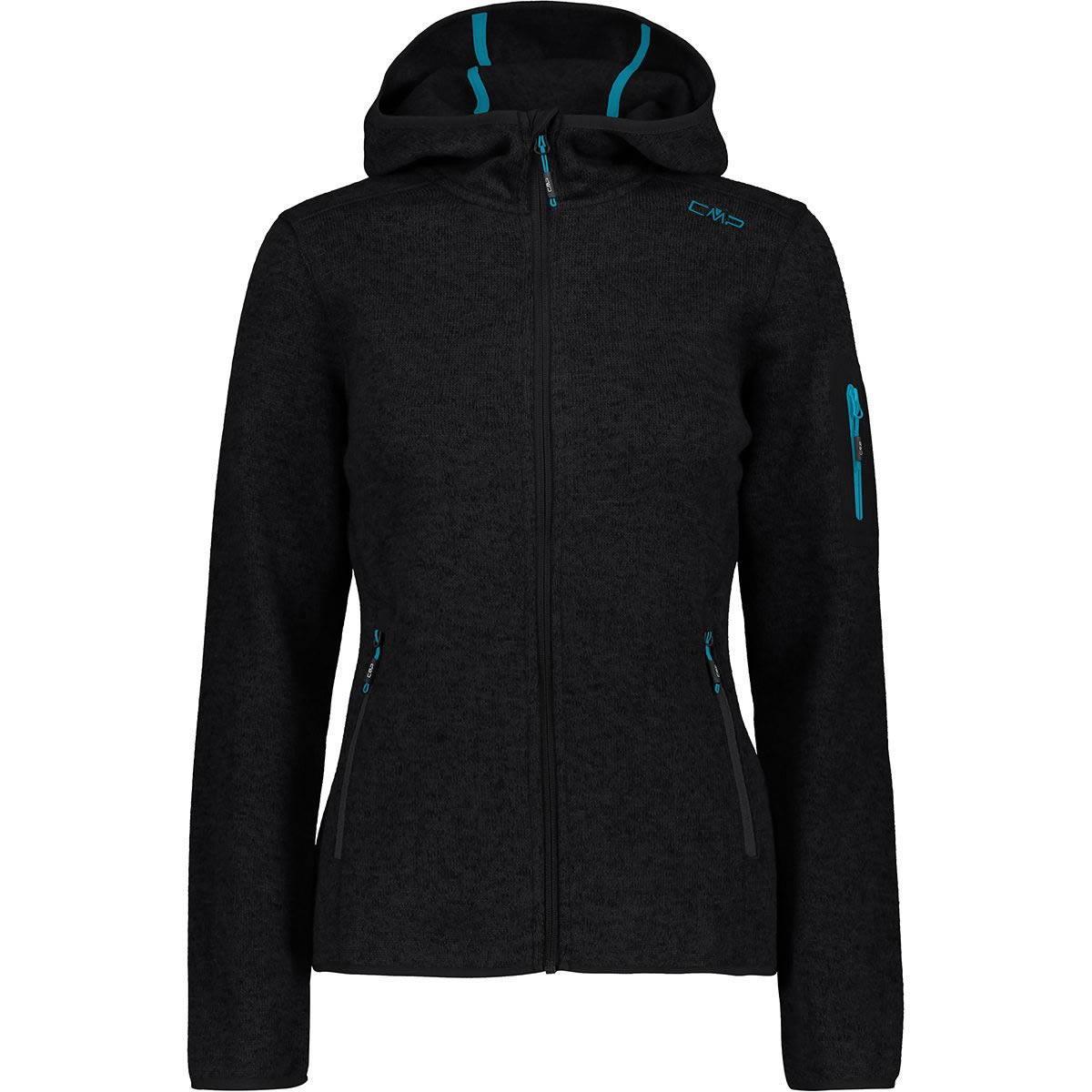 Campagnolo CMP Strick-Fleece-Jacken Frauen Übergröße