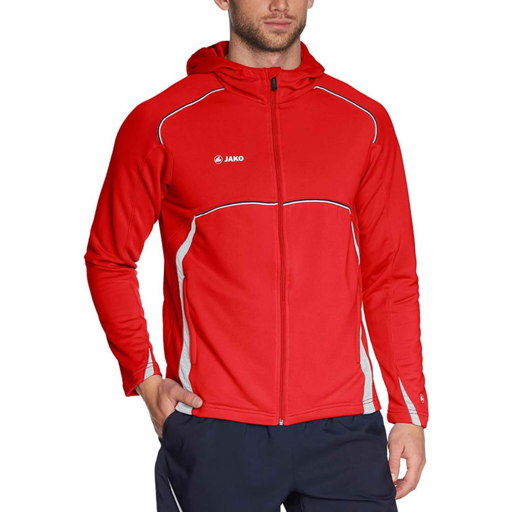 Jako Passion Trainingsjacke mit Kapuze Heren bis 4XL