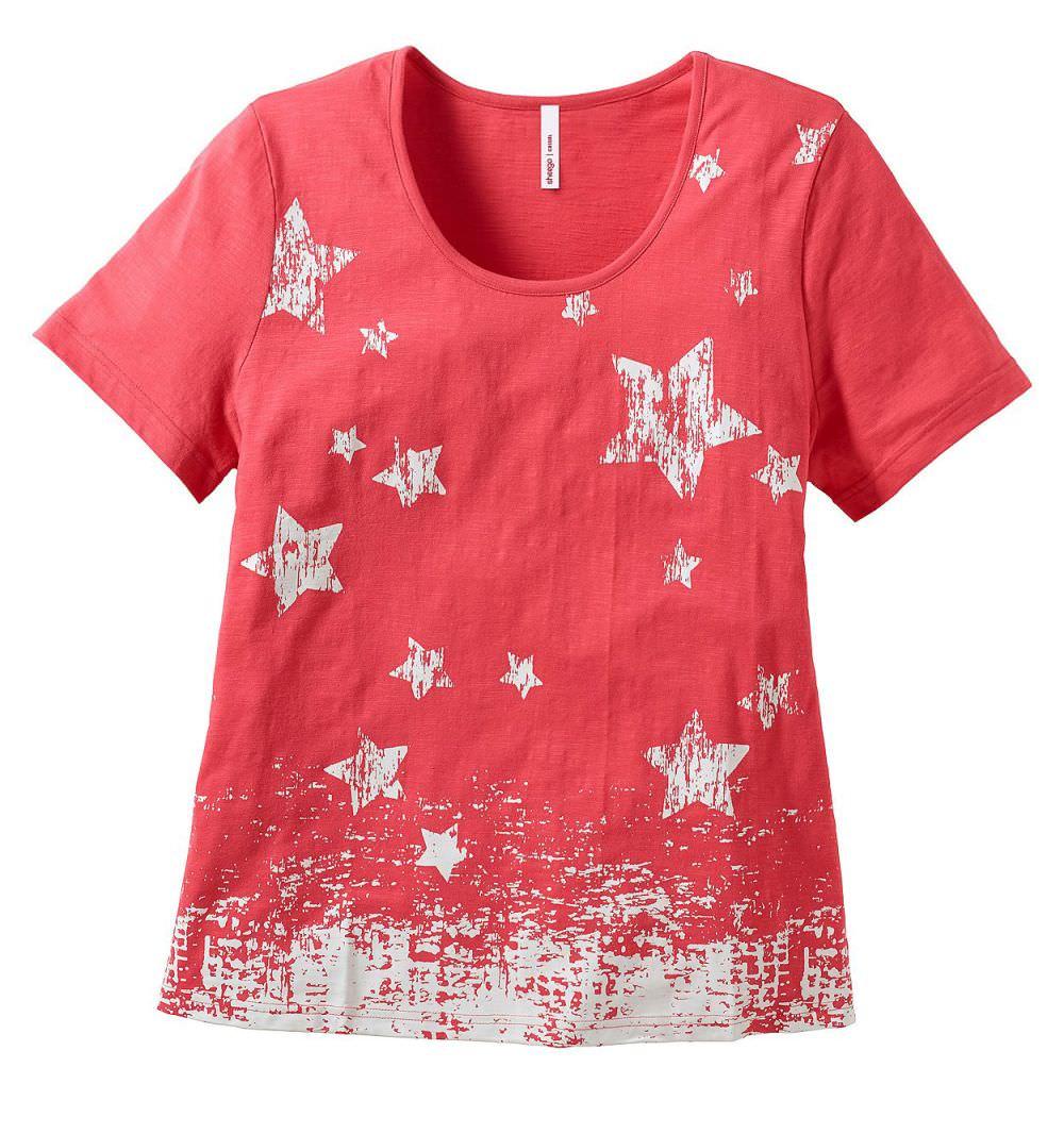 Sheego Romana Damen Freizeit Shirt Übergröße