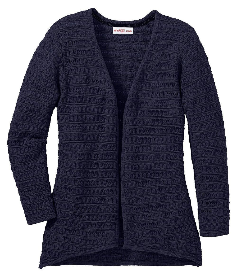 Sheego Verona Strickjacke Damen bis Gr. 58