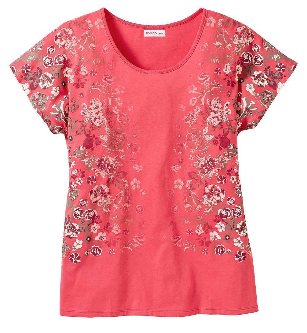 Sheego Emma Damen Shirt bis Gr. 58