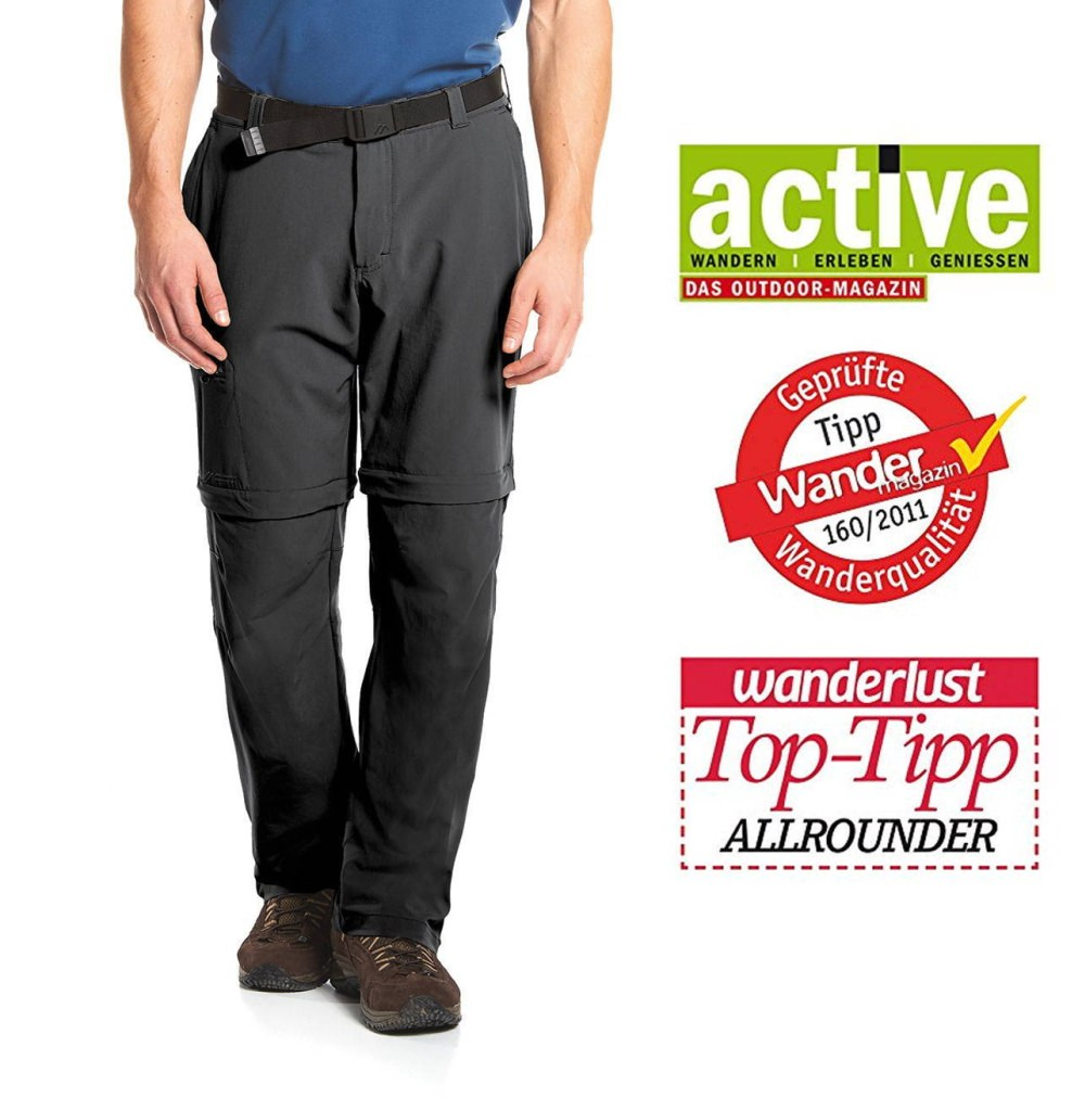 Maier Sports Tajo T-Zip -Zip-Off Hose STRETCH