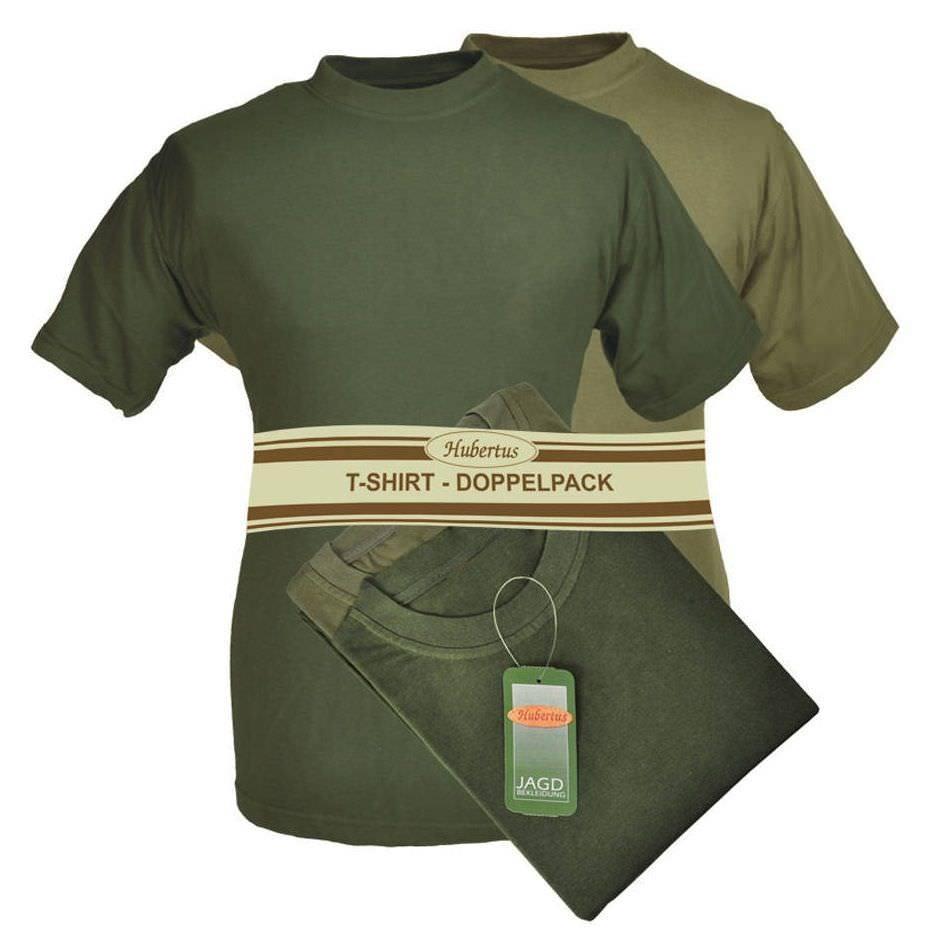 Hubertus T-Shirt Doppelpack bis 8XL