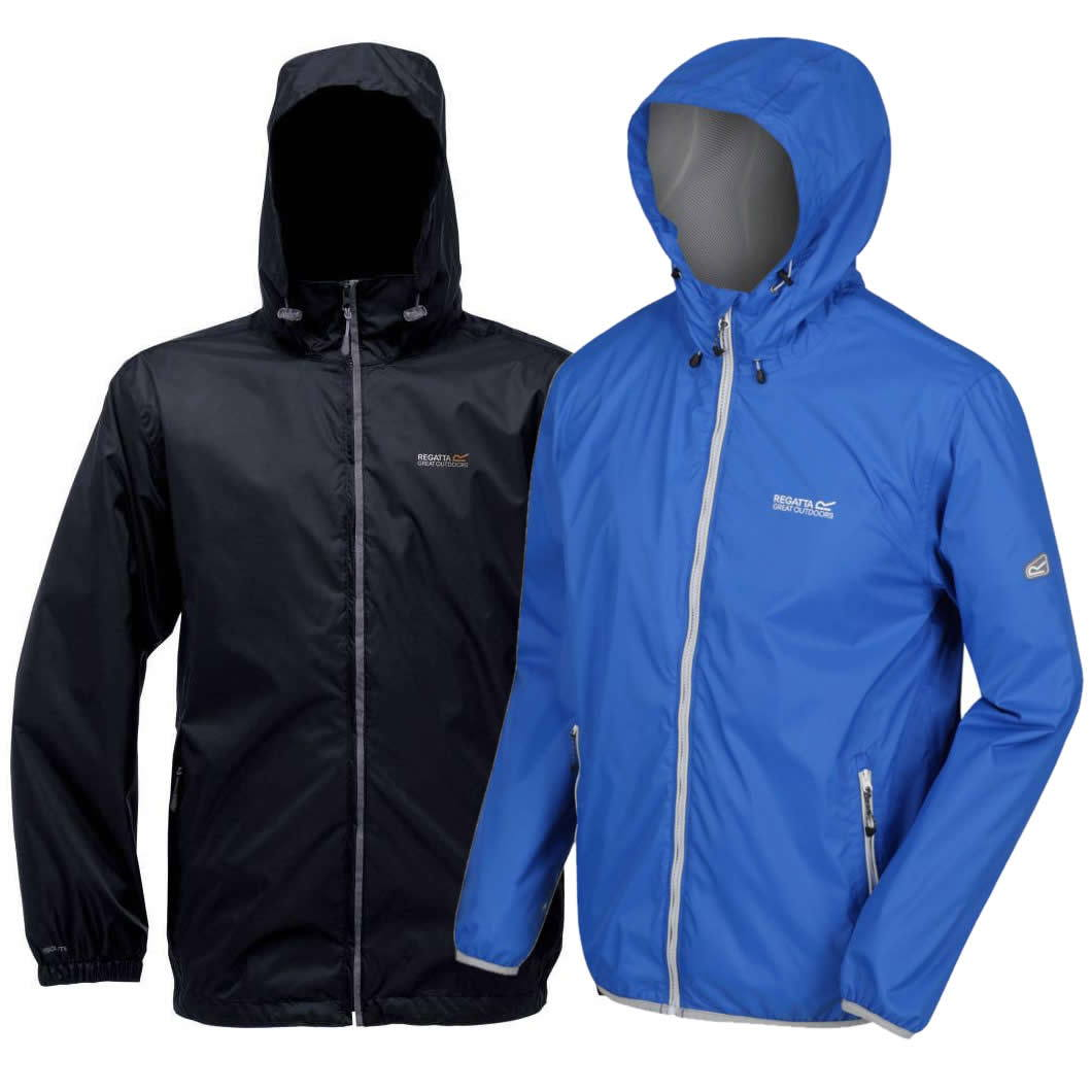 Regatta Lyle II Regenjacke Herren bis 5XL Pack-away