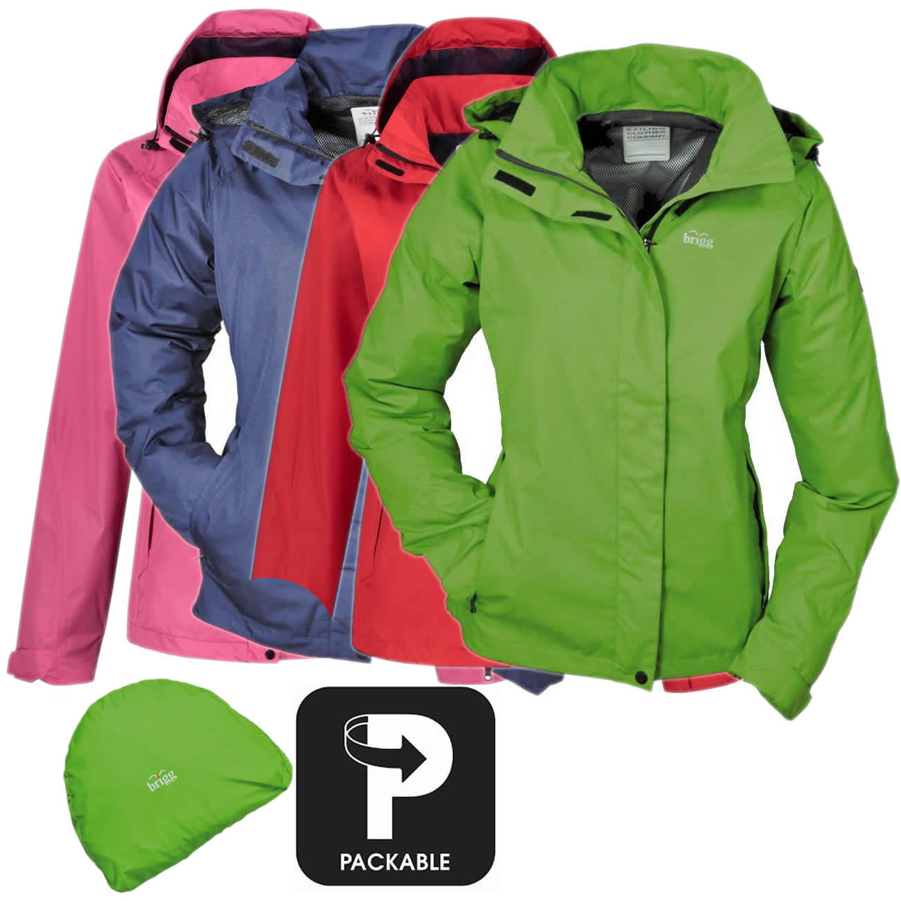 Brigg Sylt Damen Funktionsjacke PACK AWAY