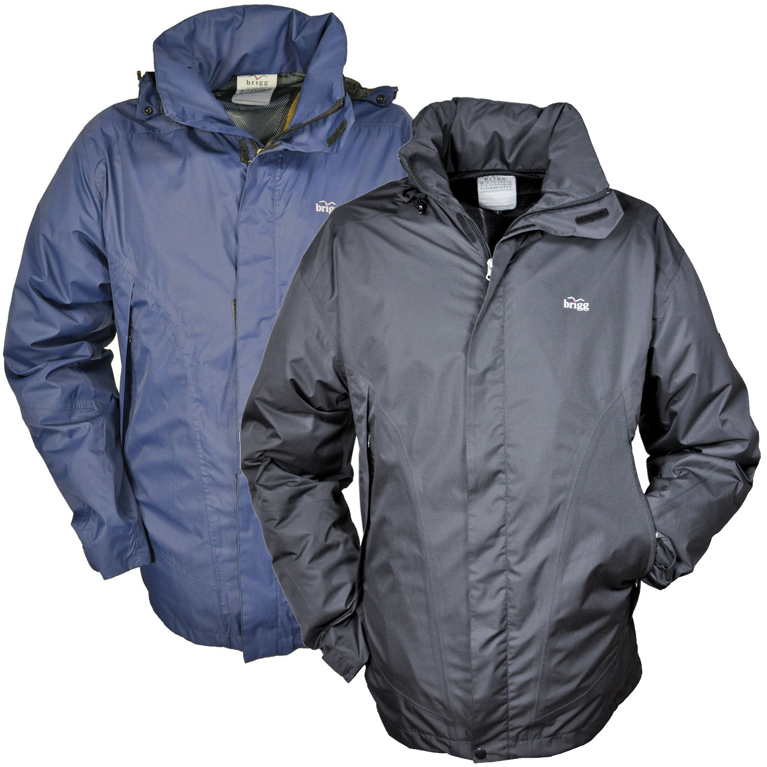 Brigg Perfect - Herren Pack Away Regenjacke